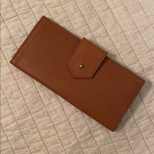 Madewell Leather Post Wallet